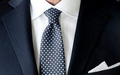 Het pak de nieuwe das?